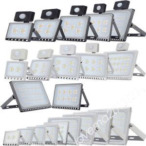⭐LED Floodlight 50/100/300/500W PIR Sensor Motion Spotlight Flood Light IP65 MT