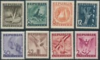 Stamp Austria Mi 776-83, SC B171-8 1946 Post WWII Anti War Fascist Set MNH