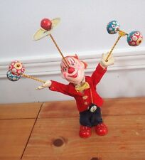 Vintage Windup Juggling CLOWN Balancing Circus watch Made in Japan tin toy