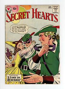 SECRET HEARTS #68 - HIGH GRADE - GREAT COVER - VERY RARE: NONE on CGC - 1960 DC