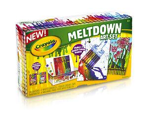Crayola Meltdown Art Set - Create your own Melted Crayon Art