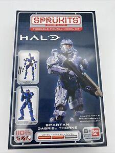 HALO - Spartan Gabriel Thorne - Sprukits - Poseable Figural Model Kit -  BanDai