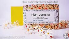 Green Junction's Night Jasmine Glycerine Soap  - Set of Two Soap - ( 150 g each)