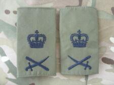 ROYAL MARINES & BRITISH ARMY COMMANDO RANK SLIDES OG LT GEN RM SBS RA RE REME