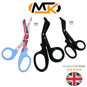 Nurses Scissors Surgical  Bandage Veterinary Trauma Shears & Medical First Aid