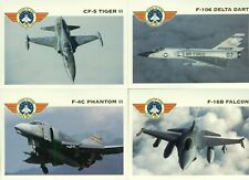 1992 WINGS OF FIRE MILITARY AIRCRAFT COMPLETE SET OF 100 MINT CARDS & CHECKLIST