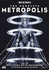 Metropolis (Blu-ray Disc, 2010, Limited Edition)The Complete Edition sealed!