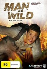 MAN vs WILD Urban Jungle Warrior Season 4 BEAR GRYLLS DVD NEW