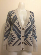 NATIVE AZTEC TRIBAL CARDIGAN  VINTAGE GYPSY HIPSTER SWEATER BOHO URBAN OUTFITTER