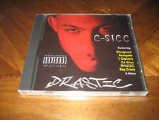 C-SICC - Drastic - Rap CD 10sion Shogunn Renegade Say Crisis - West Coast