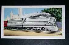 Pennsylvania Railroad    Broadway Limited        Vintage Card