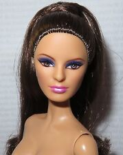 (B) NUDE BARBIE (B~ BRUNETTE PT BASIC MODEL #14 003 MUSE LOUBOUTIN DOLL FOR OOAK