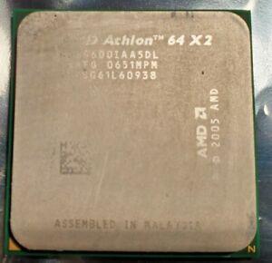 AMD Athlon 64 X2 3600+ 1.9GHz Dual-Core (ADO3600IAA5DL) Processor