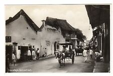 Venusstraat Soerabaja Surabaya Real Photo Postcard c1930s East Java Indonesia