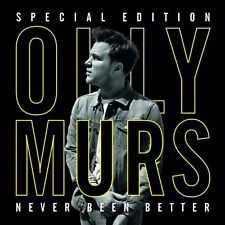 Olly Murs  'Never Been Better'  Special Edition   (CD +DVD)   ***Brand New***