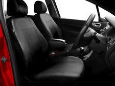 Car seat covers fit Nissan Qashqai leatherette black full set