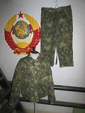 Russian army camouflage TTsKO butan air force uniform summer jacket pants rare