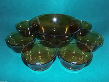 France Bowl Date-Lined Glass