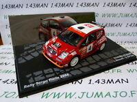 voiture 1/43 IXO Altaya Rallye : CITROËN C2 S1600 Targa Florio 2004 #4 Rossetti