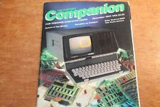 VTG The Portable Companion for Osborne Computer Users November 1984