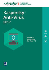 Kaspersky Anti-Virus 2017 2PC / 1Year / Antivirus / Download
