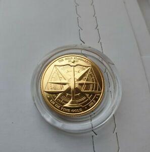 2020 THE GOLD STANDARD QUARTER OUNCE GOLD £25 COIN.1/4oz gold coin. Royal Mint