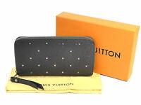 Auth Louis Vuitton Monogram Empreinte Zippy Wallet Long Wallet M61442 - 98458d