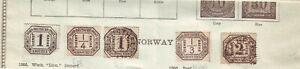 North German Confederation 1870 SG045 1k  M/M Cat. £50.00 & GROUP MINT & USED ++