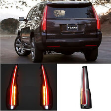 "For GMC Yukon 2015-2018 Tail Lights LED Rear Lamp ""Cadillac Escalade"" Style"