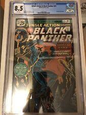 CGC 8.5 Jungle Action Black Panther #21 *White*1976* Klu Klux Klan Story