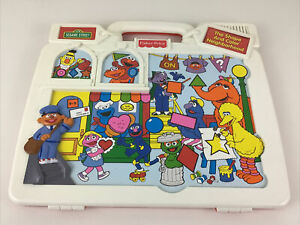 Sesame Street The Shape And Color Neighborhood Electronic Learning Fisher Price