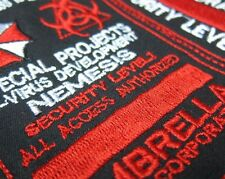 Custom name tapes Resident Evil Umbrella Corporation Badges Patch B1987