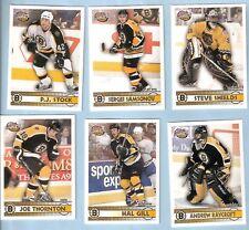 2002-03 Pacific Complete Insert Boston Bruins Team Set (23)