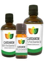Cardamom Essential Oil Pure Natural Aromatherapy Elettaria Cardamomum