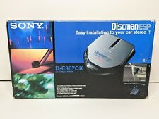 Sony Discman ESP D-E307CK CD Compact Player Car Connection Pack Complete In Box