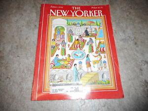 JUNE 1 1992 NEW YORKER vintage magazine - EGYPT