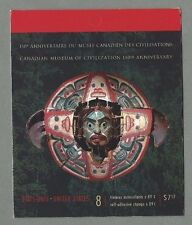 CANADA 2006 Booklet - CANADIAN MUSEUM OF CIVILIZATION  (8 @ 89c) Complete - MNH