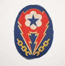 ETO Communications Zone COM-Z Theater Made Printed Patch WWII US Army P5804