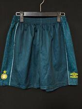 1995-96 Inter Football Training Shorts Soccer Size:M