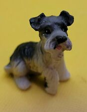 New listing Schnauzer Dog Tiny Figurine Perfect Gift or Keepsake