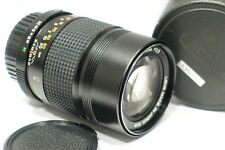 Konica Hexanon AR 135mm f3.5 AE lens Exc fits Sony E Canon with suitable mount