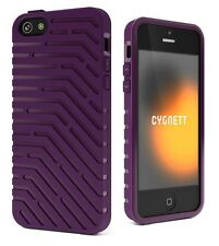 Cygnett CY0855CPVEC Vector TPU Case for iPhone 5/5S/SE - Purple