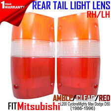 For Mitsubishi 87-92 Pickup Mighty Max Dodge D50 Standard Rear Tail Light Lens