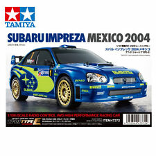 Tamiya 1 10 RC Subaru Impreza WRX 2004 (tt-01e) 47372 Kit de montage
