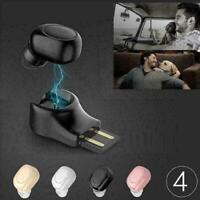 Bluetooth 4.1 Stereo Headset In Ear Ohrhörer Drahtlose Ohrhörer Magnetische D8U2