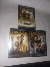 The Lord of the Rings Trilogy 3 DVD Set Widescreen 6 Discs Total.