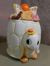 Vtg. TURTLE Cookie Jar