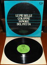 LP LE PIU' BELLE COLONNE SONORE DEL 1973-74 (Cam 74) Italian sexy crime OST VG+