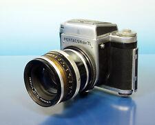 Pentacon Six TL + Carl Zeiss Jena Biometar 2.8/120 Caméra Camera Objectif - 43181
