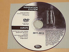 UK Latest Land Rover Range Rover Sport/Discovery 3 2005-9 Sat Nav Disc DVD